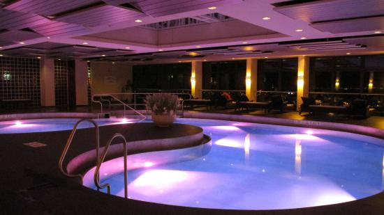 Pool On The Top Floor Picture Of Sheraton Muenchen