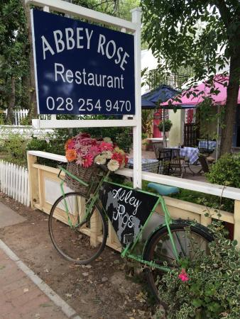 Abbey Rose : We had a really great dinner at Abby Rose.