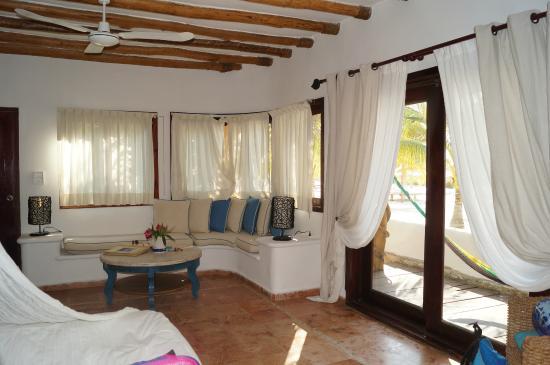 CasaSandra Boutique Hotel : Muy cómoda y la decoración muy linda