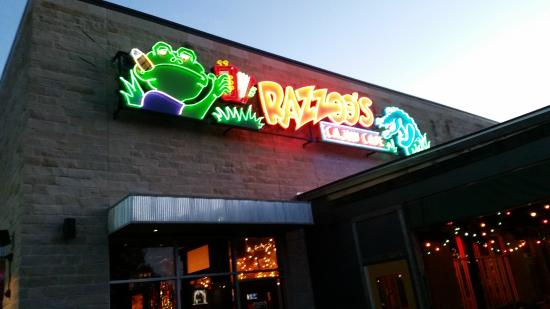 Razzoo's Cajun Cafe : Entrance