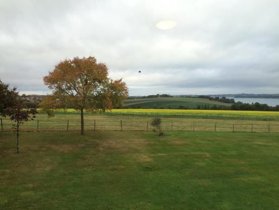 Manoir de Rigourdaine : The view