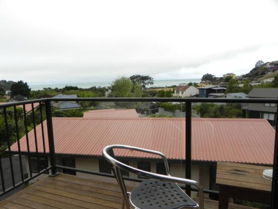 Torlesse Motels: Balcony of Apartment 5