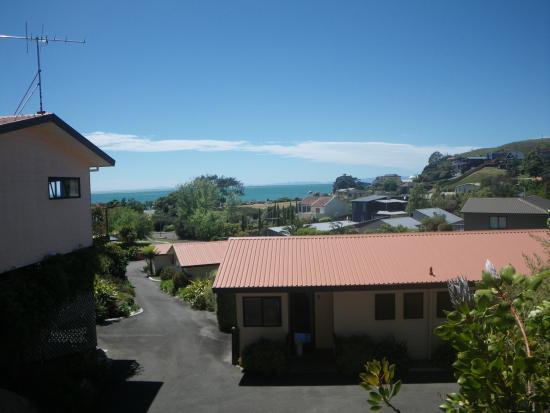 Torlesse Motels: Apartment 5; view from the balcony