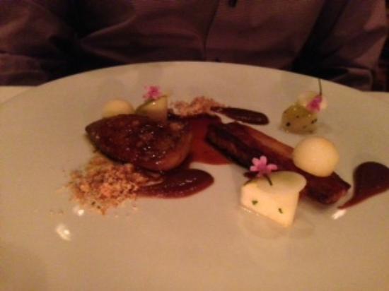 Langdon Hall: foie gras
