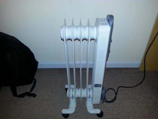 Holiday Inn Express, Ramsgate - Minster: Oil Heater