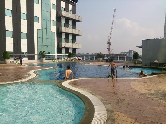 Nice Swimming Pool Picture Of Gbw Hotel Johor Bahru Tripadvisor