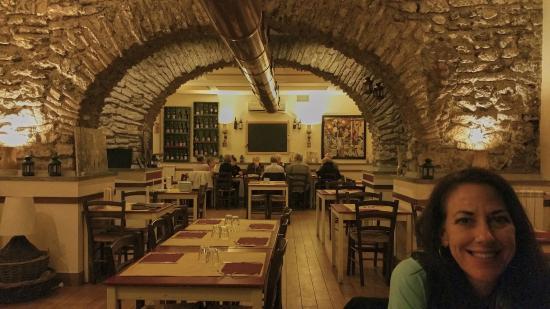 Pezzafina: dining room