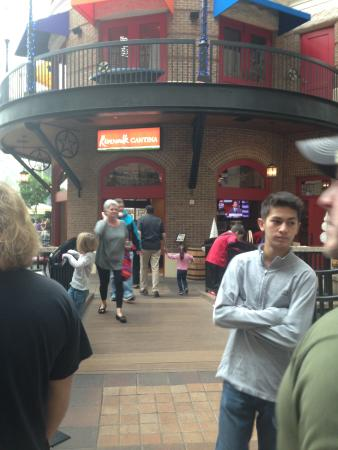 Riverwalk Cantina : Front of Restaurant