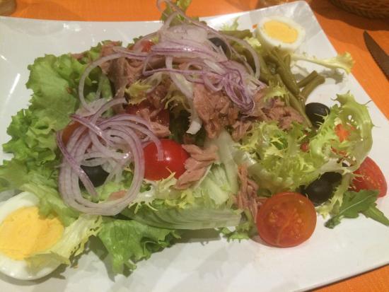 Bistrot & Pizza Argentino: Buone le insalate������