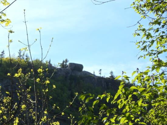Bubble Rock : On the way to the top