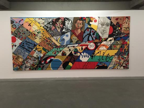 Museo de Arte de Reykjavik: Pintura exposição Erró