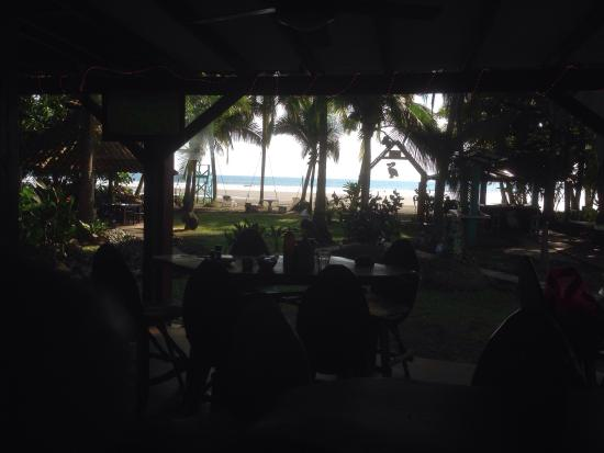 Pelican Hotel and Restaurant : Couldn't ask for a better view! Great, chill staff.
