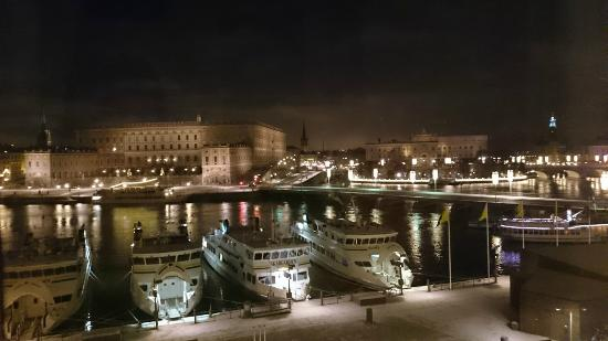 Night View From Room Picture Of Grand Hotel Stockholm Tripadvisor