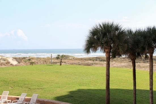 Aransas Princess : view from the balcony