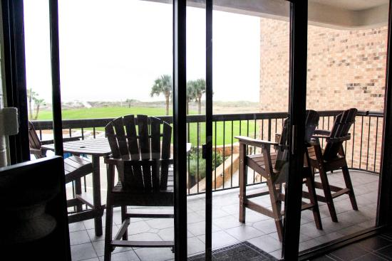 Aransas Princess: view from the balcony