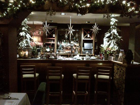 The Timble Inn: tastefully  decorated bar