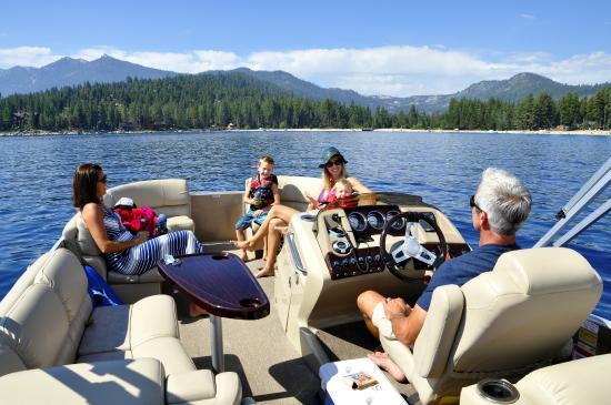 SWA Watersports: Boating Lake Tahoe!