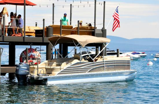 SWA Watersports: Check out our Lake Tahoe pontoon boat rentals!