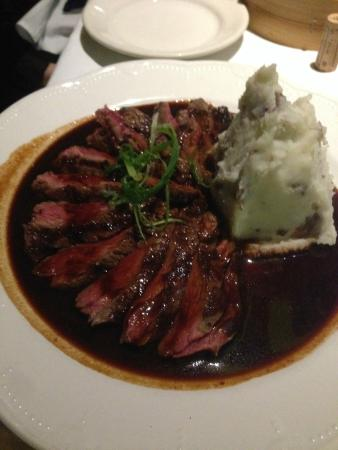 Al Forno: Dirty beef with mashed potatoes