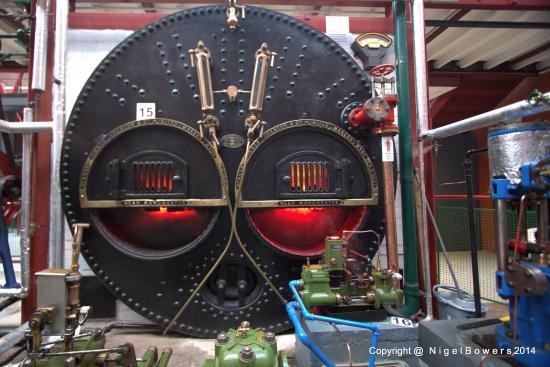 Bolton, UK: Lancashire Boiler Front Plate