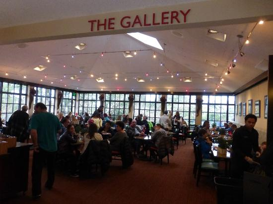 The Cafe : The Gallery Dining area at Terrace Cafe (cafeteria style)