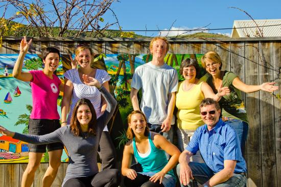 Almond House Backpackers: Meet lots of new friends