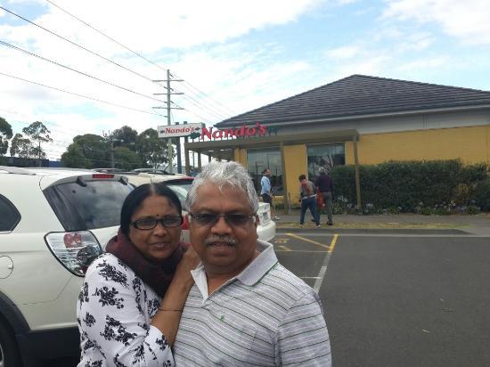 Heatherton, Avustralya: Eat or pack  Nando's  ready  !