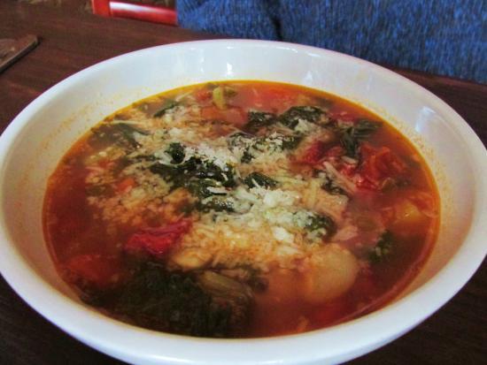 Osteria Rocco: Tomato basil soup