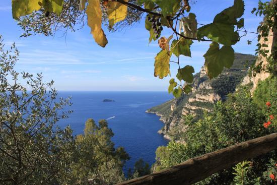 La Grotta dei Fichi: Eén van de vele mooie uitzichten