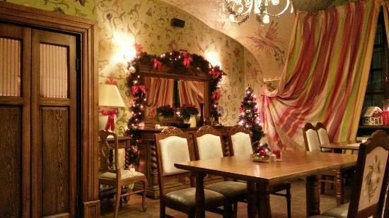 Polka Restauracja: The green room