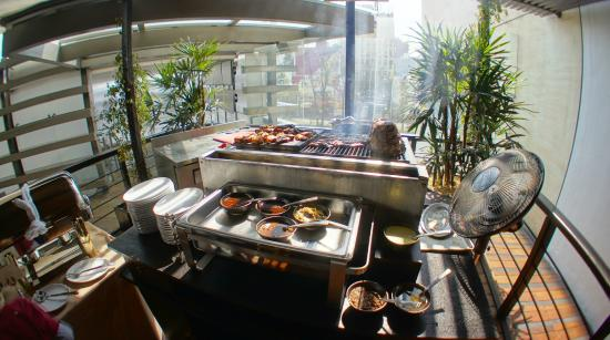 Erawan: Sunday brunch buffet: BBQ