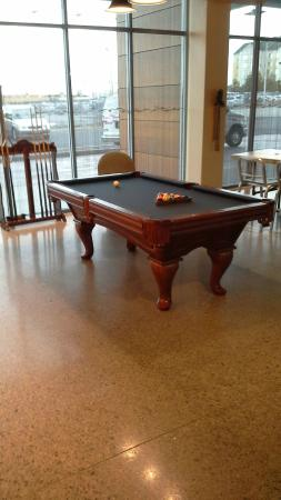 Pool Table In The Lobby With Other Cool Retro Games Picture Of - Retro pool table