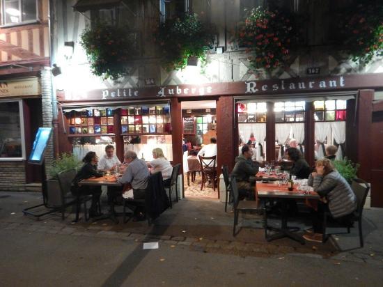 Restaurant La Petite Auberge Rouen Menu