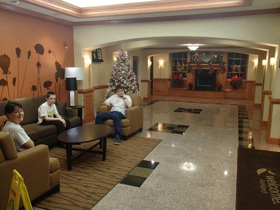 Sleep Inn & Suites: Lobby area