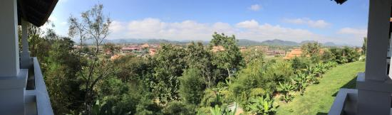 Luang Prabang View Hotel : View from the room