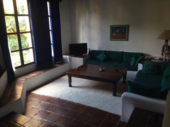 Quinta de las Flores : living room