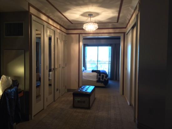 the cosmopolitan of las vegas autograph collection dressing area terrace one bedroom