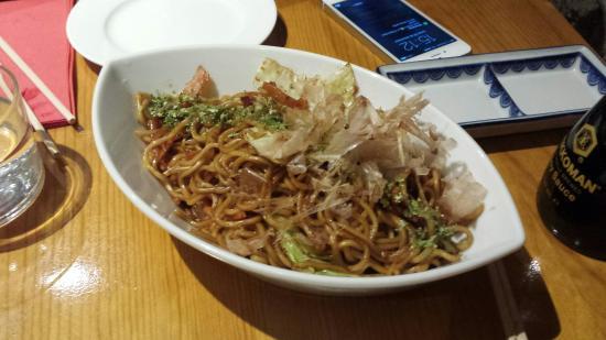 The Tatami Room: Deliciosos los yakisoba de pollo