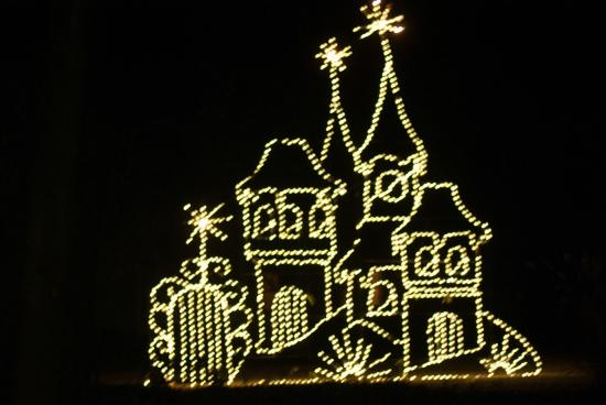 Hopeland Gardens Christmas Lights.Sorry About The Shaking Picture Of Hopelands Gardens