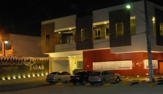 Vitoria de Santo Antao, PE: Fachada externa da pousada