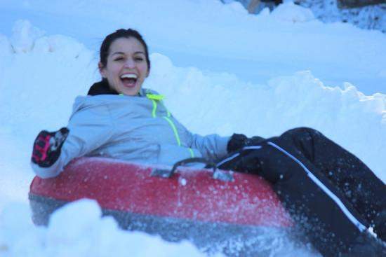 Jonas Ridge Snow Tubing: Sheer Bliss