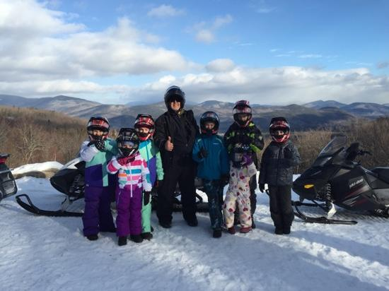Northern Extremes Snowmobiling - Tours: Bear and the kids!!