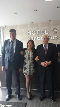 Hotel Santa Cruz Corferias: Grandes amigos