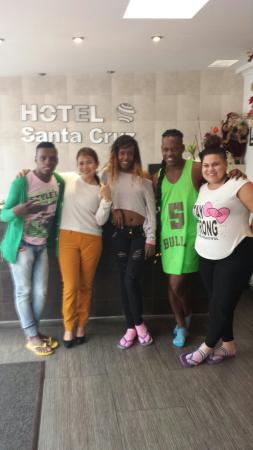 Hotel Santa Cruz Corferias: Salsa 100% colombiana presente en excelente hotel