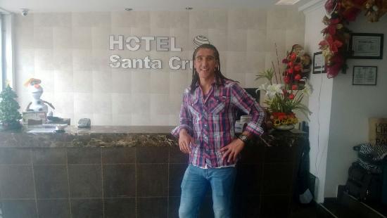 Hotel Santa Cruz Corferias: Recuerdos estadia de Juan Castillo arquero uruguayo, campeon de copa america 2011.