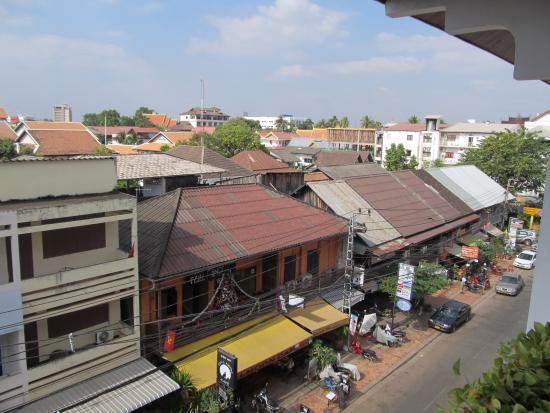 BEST WESTERN Vientiane Hotel : view from balcony