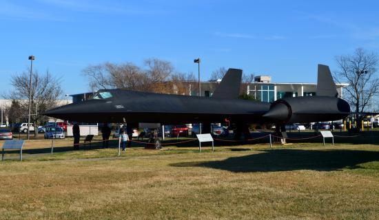 Virginia Aviation Museum : SR-71A 61-7968
