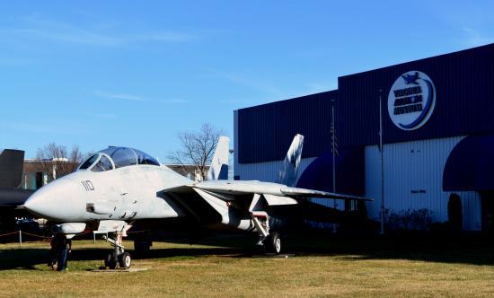 Virginia Aviation Museum : F-14D BU 164346