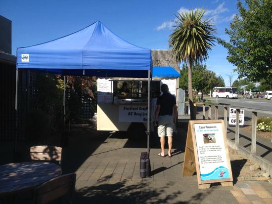 Fiordland Food Cart : The new location