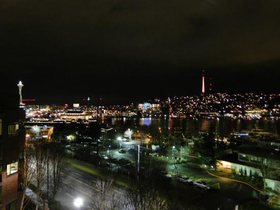 Silver Cloud Inn Seattle - Lake Union: Window View